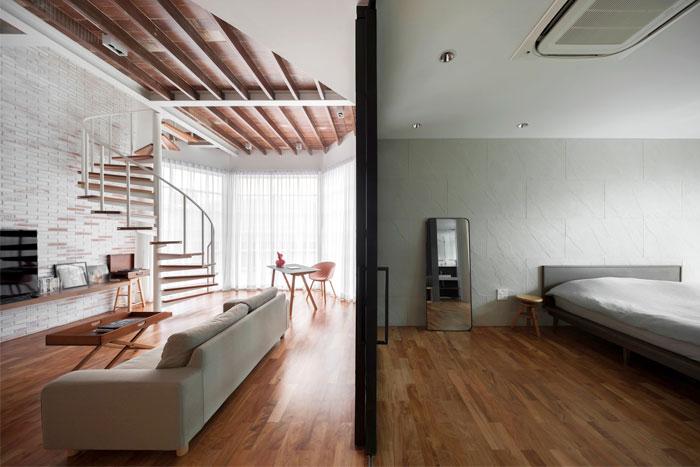 fattstudio mezzanine apartment 1