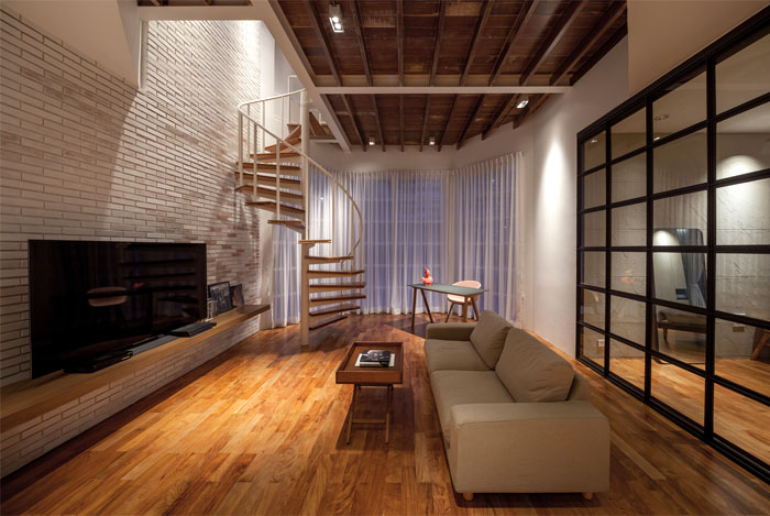 fattstudio mezzanine apartment 5