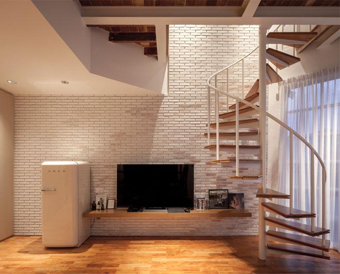 fattstudio mezzanine apartment 6