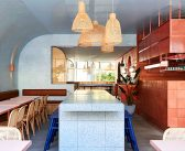 Encaustic Tiles, Terrazzo and Warm Timbers at Fonda Restaurant