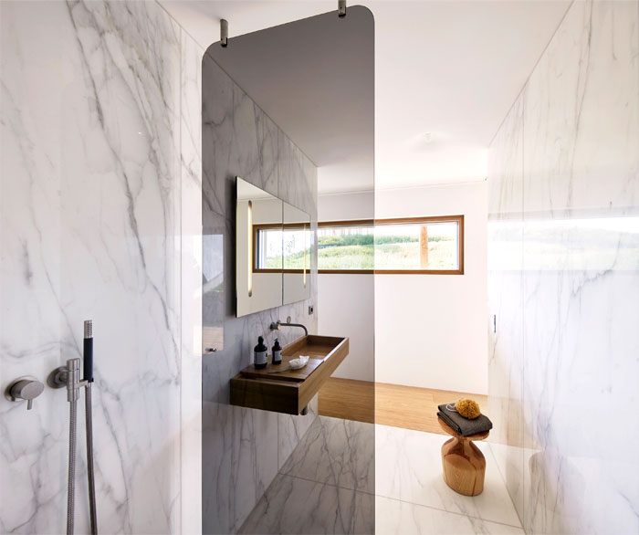 modern bathroom shower design