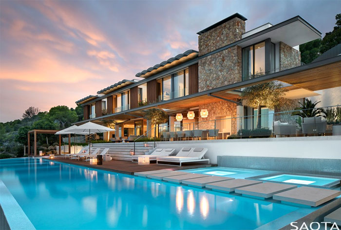 Relaxed Resort Style Home On Mallorca By Saota Interiorzine