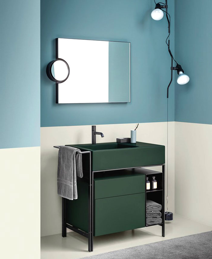 small bathroom trends furniture