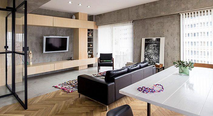 Tomokatzu Hayakawa Architects Renovate 70's Tokyo Apartment