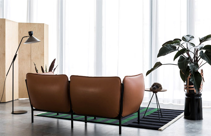 Stupendous Innovative Sofa Designed By Anderssen Voll Can Be Flat Machost Co Dining Chair Design Ideas Machostcouk