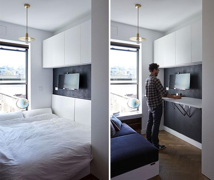 working corner bed combo