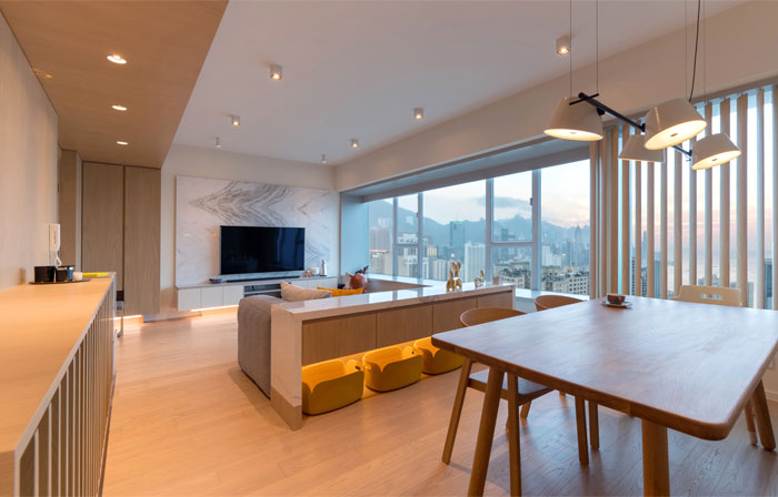 arctitudesign modern apartment hong kong 21