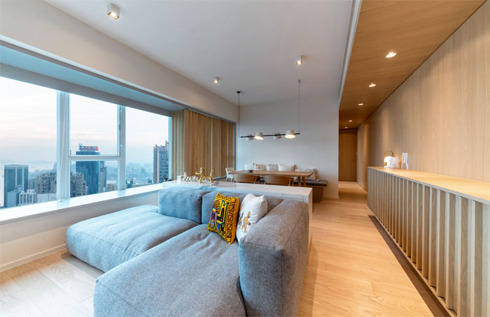 arctitudesign modern apartment hong kong 24