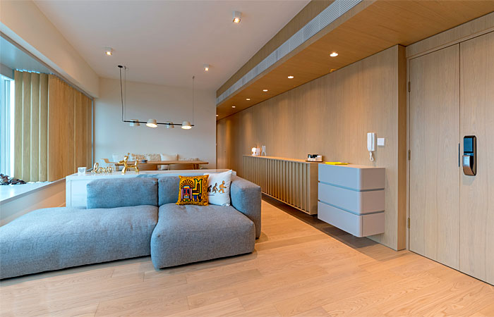 arctitudesign modern apartment hong kong 25