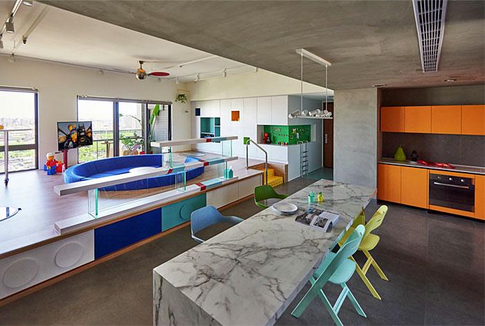 family friendly open plan kitchen hao design