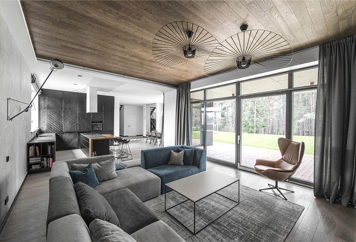 Modern home interior materials