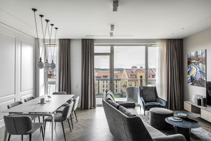 Urban Chic Vilnius Apartment by Softdecor - InteriorZine