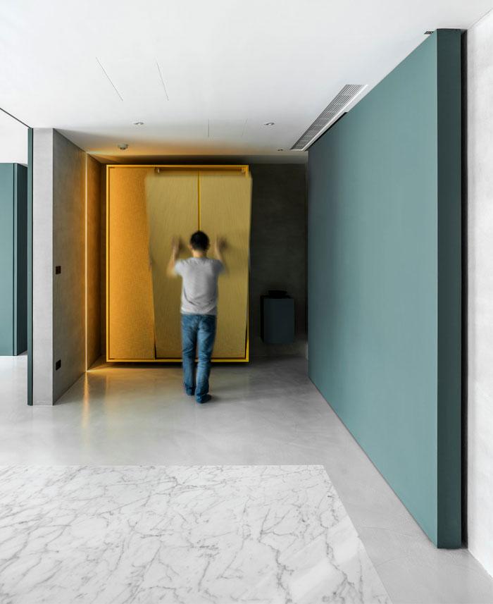 wei yi international design associates apartment 6