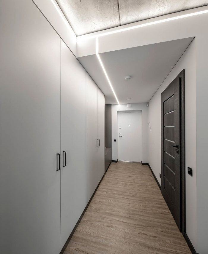 moss green color decor apartment interdio 14