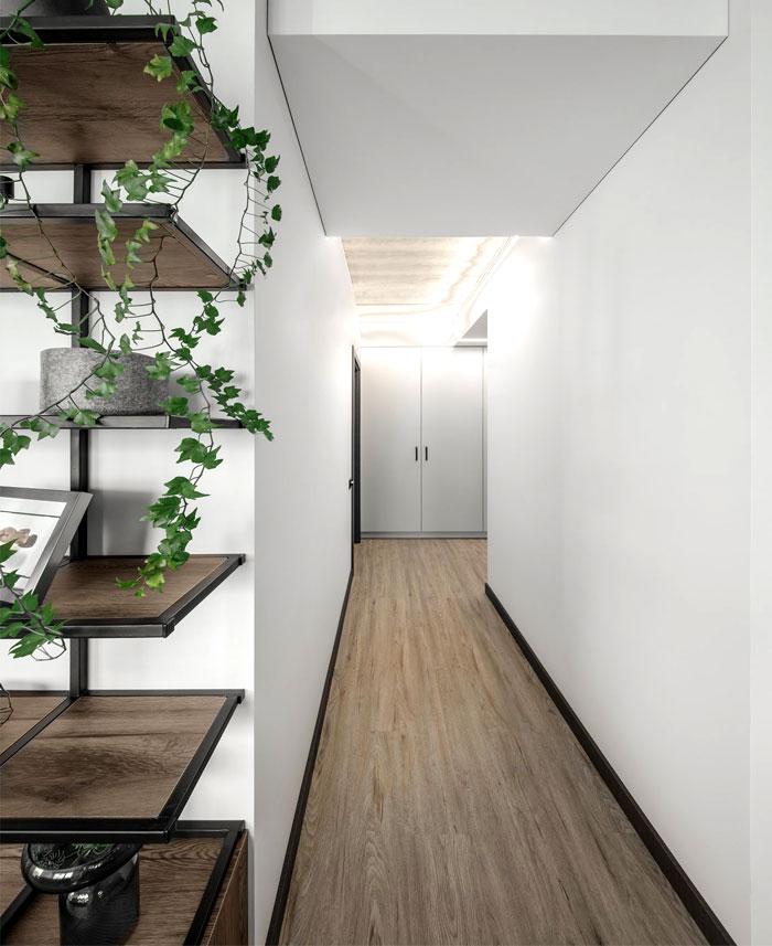 moss green color decor apartment interdio 17