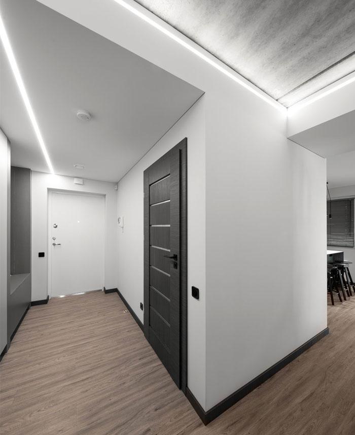 moss green color decor apartment interdio 4