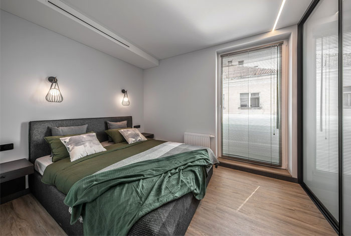 moss green color decor apartment interdio 9