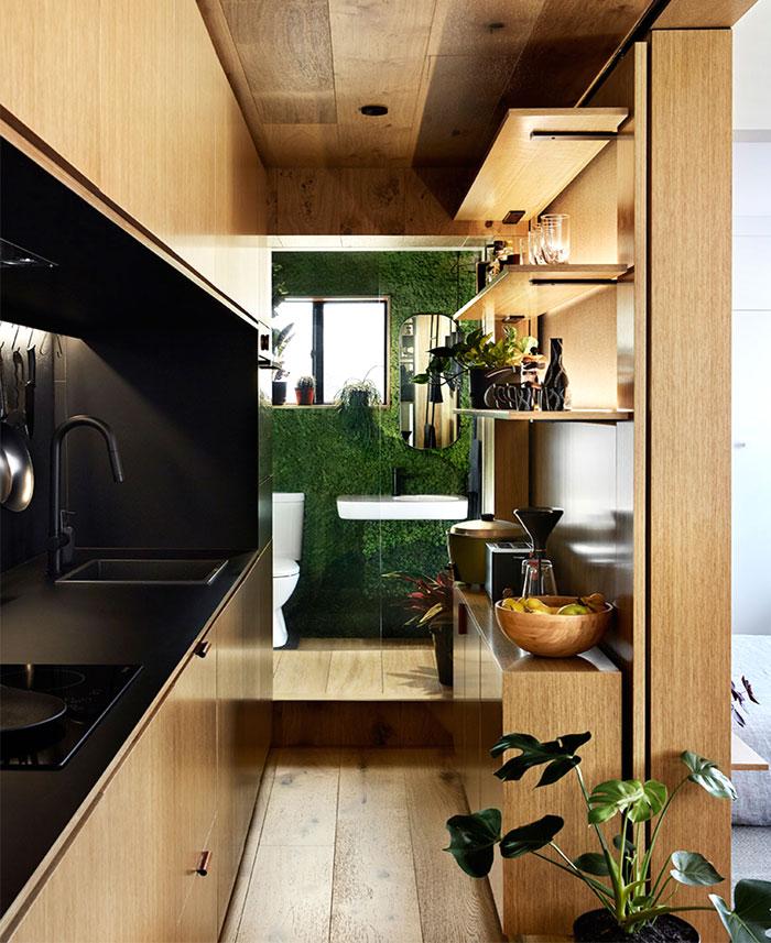 multifunctional design apartment 35 square meter 6