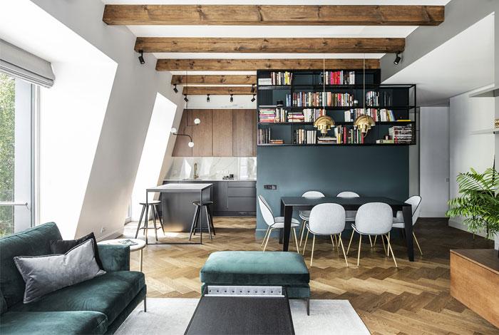 studio in arch loft vilnius 1