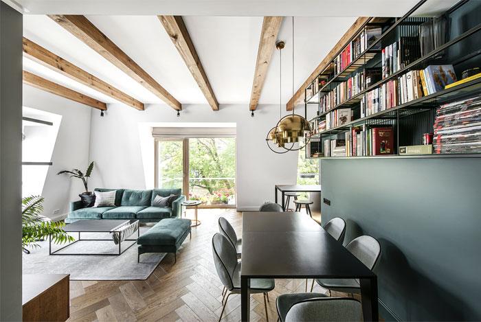 studio in arch loft vilnius 12
