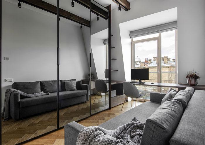 studio in arch loft vilnius 24