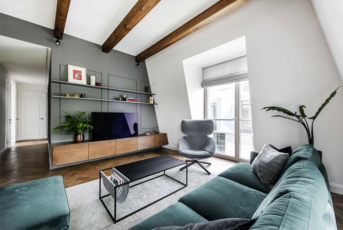 studio in arch loft vilnius 5