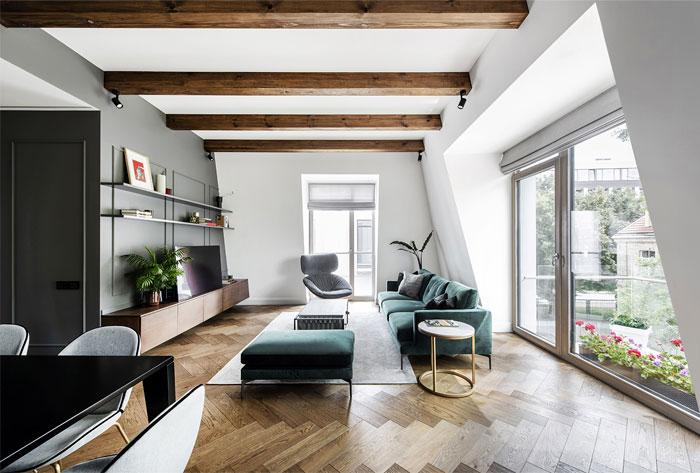 studio in arch loft vilnius 8