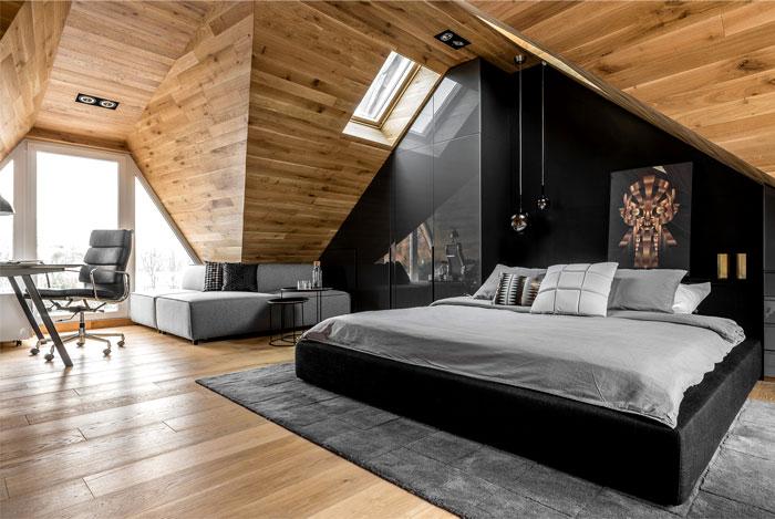 bedroom studio raca architekci home office