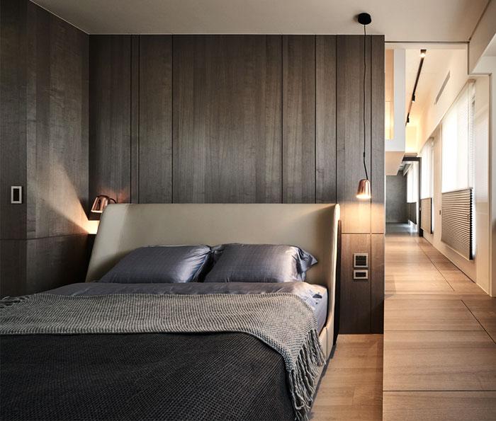 bedrooms dark wall decor
