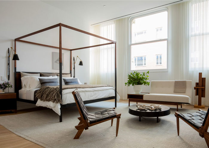 canopy bed mens bedroom ultimate luxury