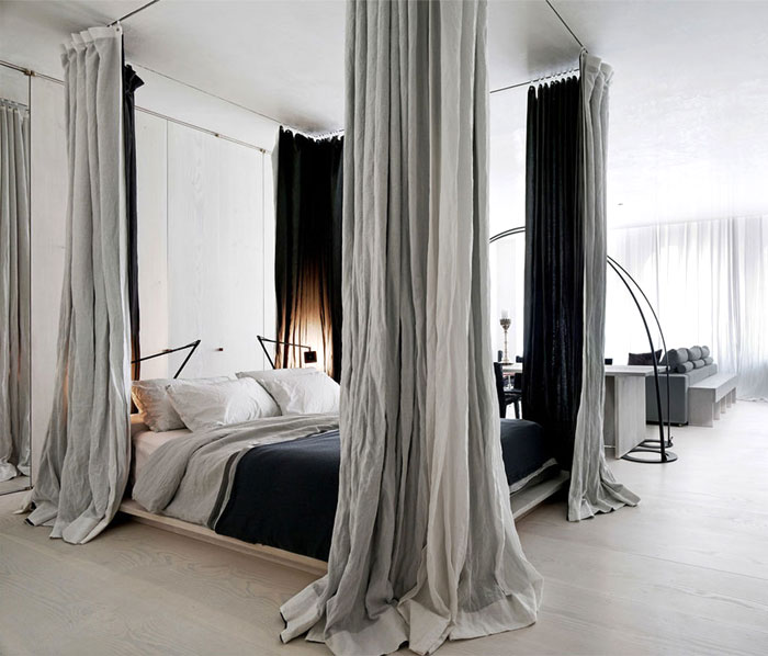 canopy bed sculptural accent 4