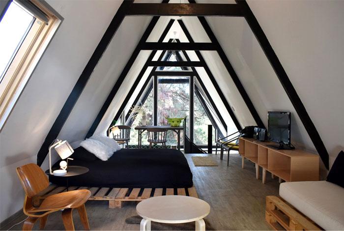 home office modern mans bedroom
