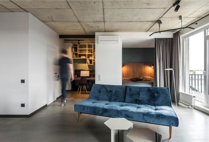 limited living space dizu mens bedroom