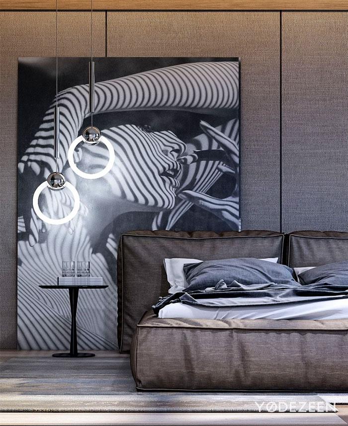 masculine bedroom decor 1