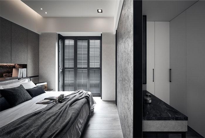 masculine bedroom decor