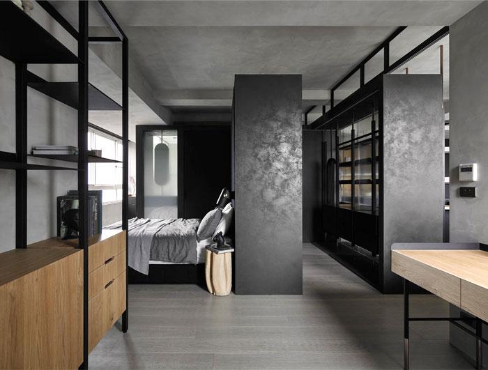masculine bedroom wardrobe