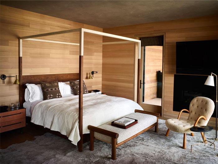 men bedroom canopy bed