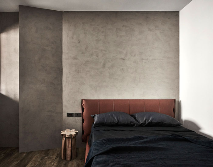 mens bedroom dark wall decor