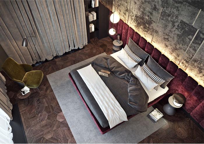 mens luxury bedroom ideas