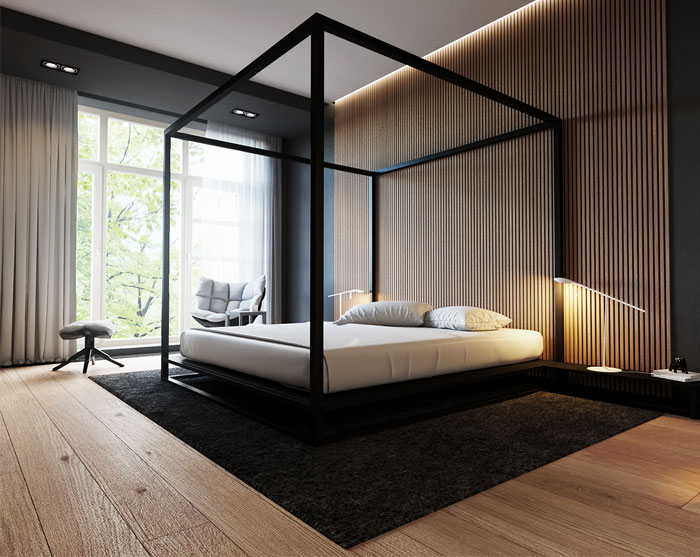 sexy bedroom canopy bed