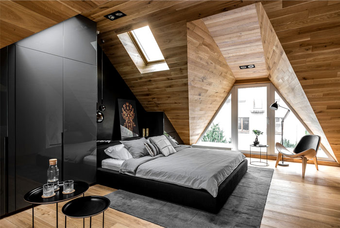 sexy men bedroom raca architekci