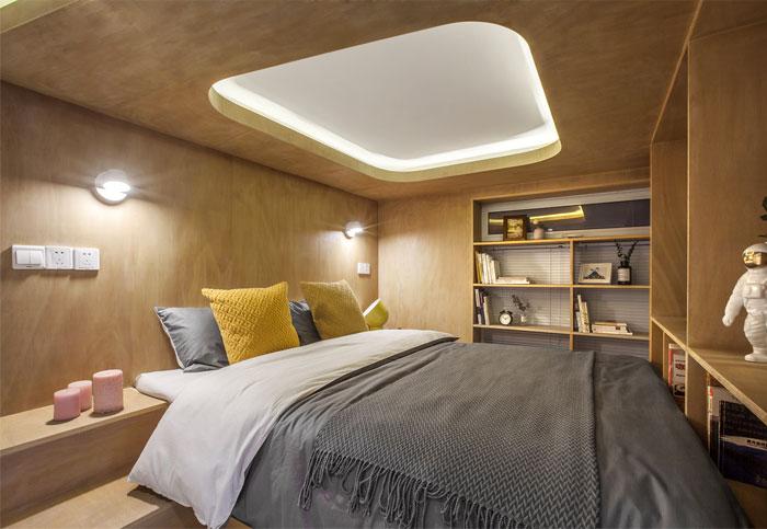 small space towo design mens bedroom decor