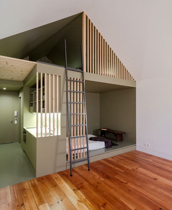 small urban apartments men bedroom