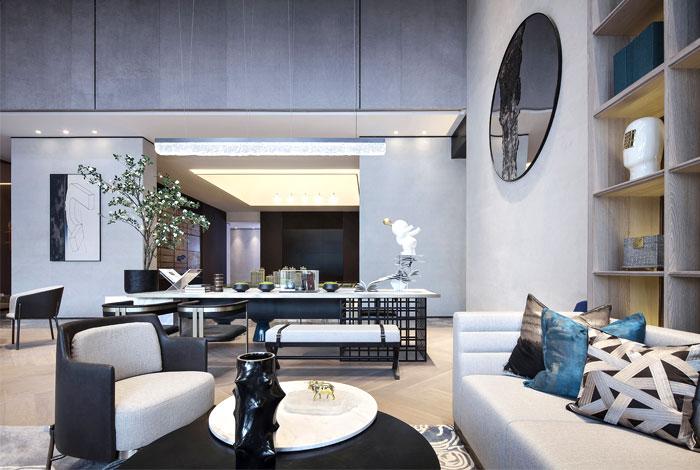 one cu interior design lab sales center 3