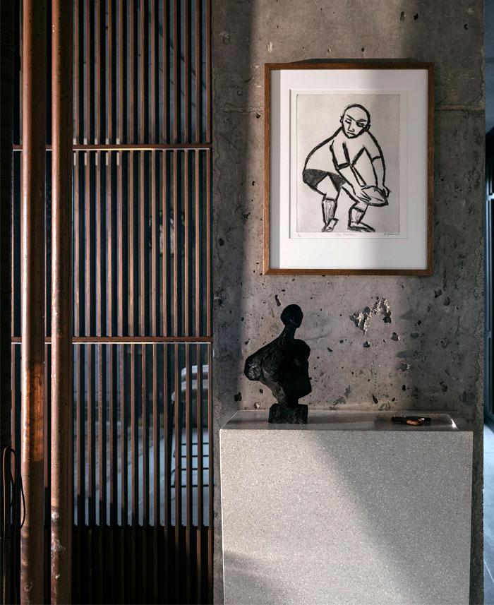 apartment sydney amber road dark tones 11