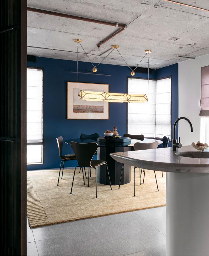 apartment sydney amber road dark tones 3