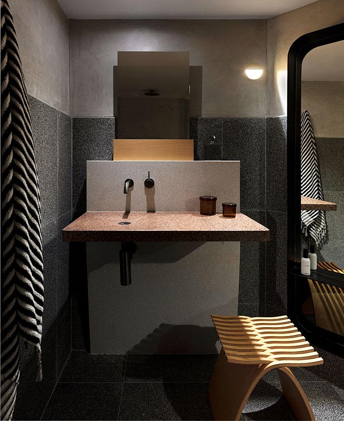 apartment sydney amber road dark tones 7