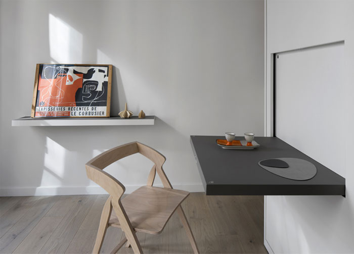 16 sqm apartment workplace