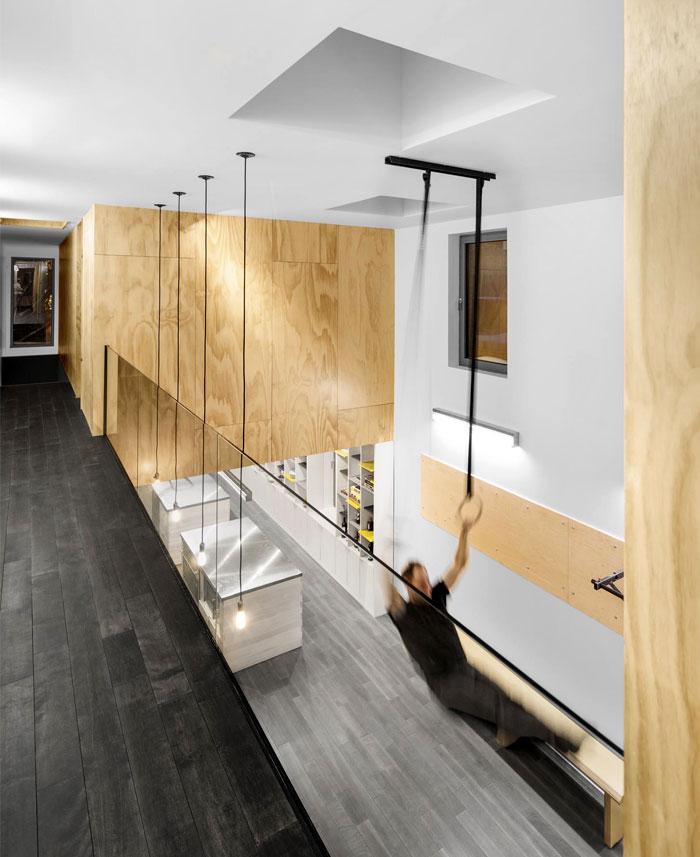 hybrid home office exercise room 1