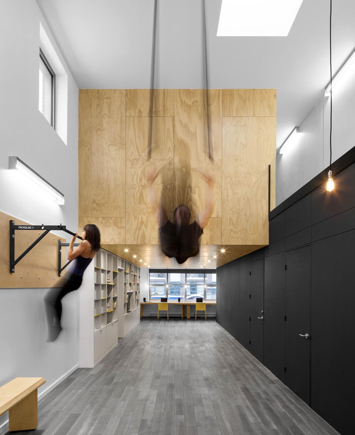 hybrid home office gym